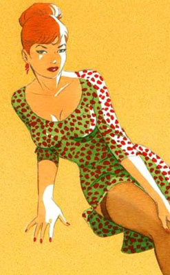 Pin-up de Berthet