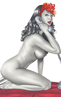 Pin-up de Casotto