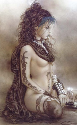 Pin-up de Royo