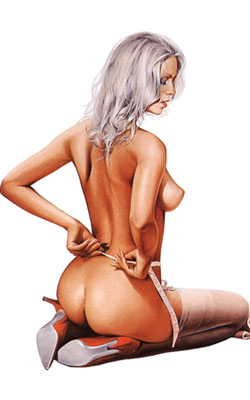 Pin-up de Sorayama